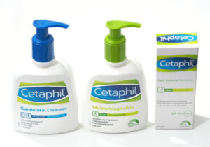 Cetaphil Gentle Skin Cleanser, Moisturising Lotion and Daily Defence Moisturiser