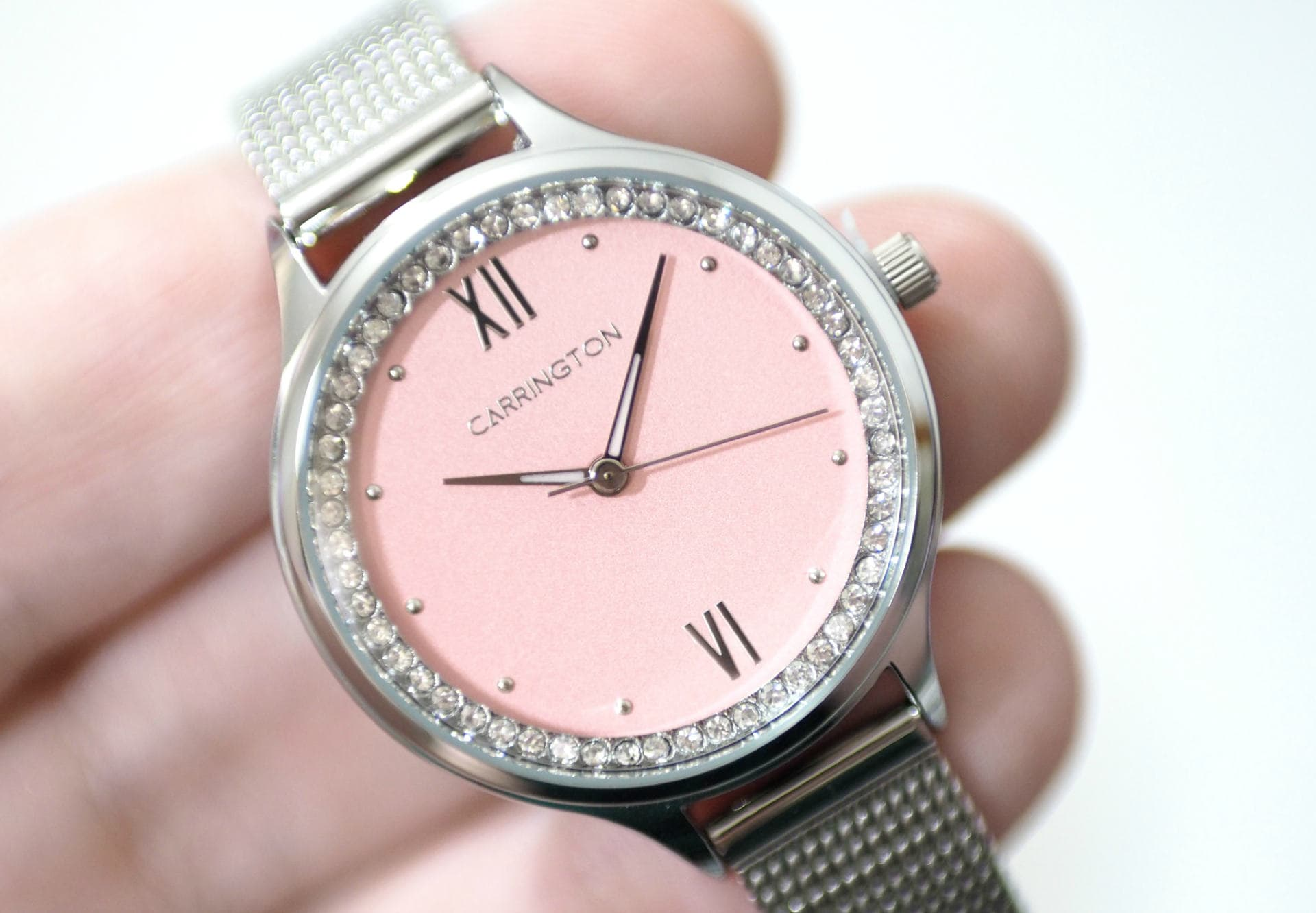 Carrington and Company Elsie Mesh Band Watch PLUS Giveaways!