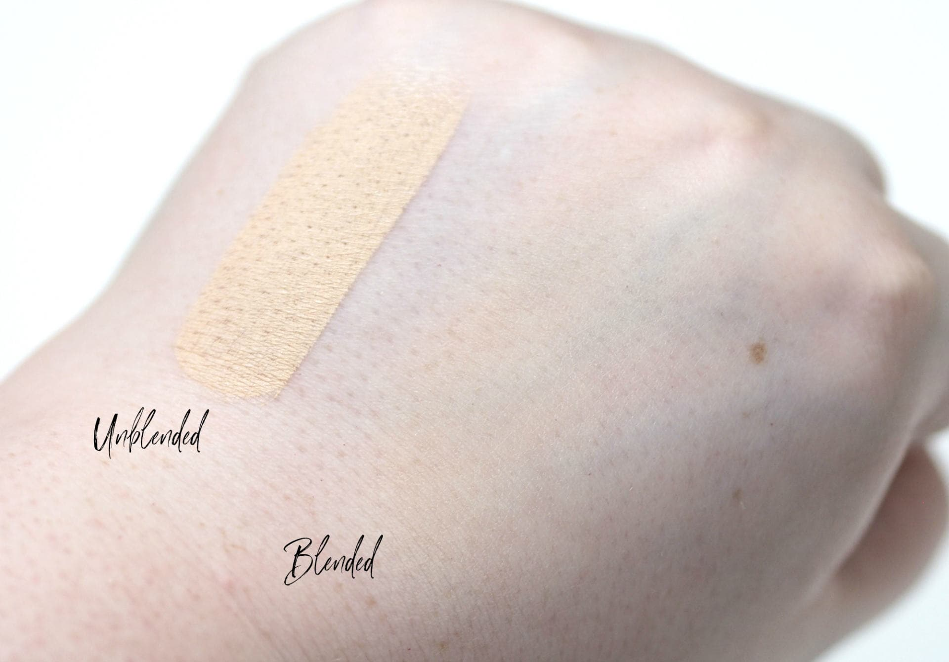 ColourPop No Filter Stix Foundation Review Swatches in the shade 07 N