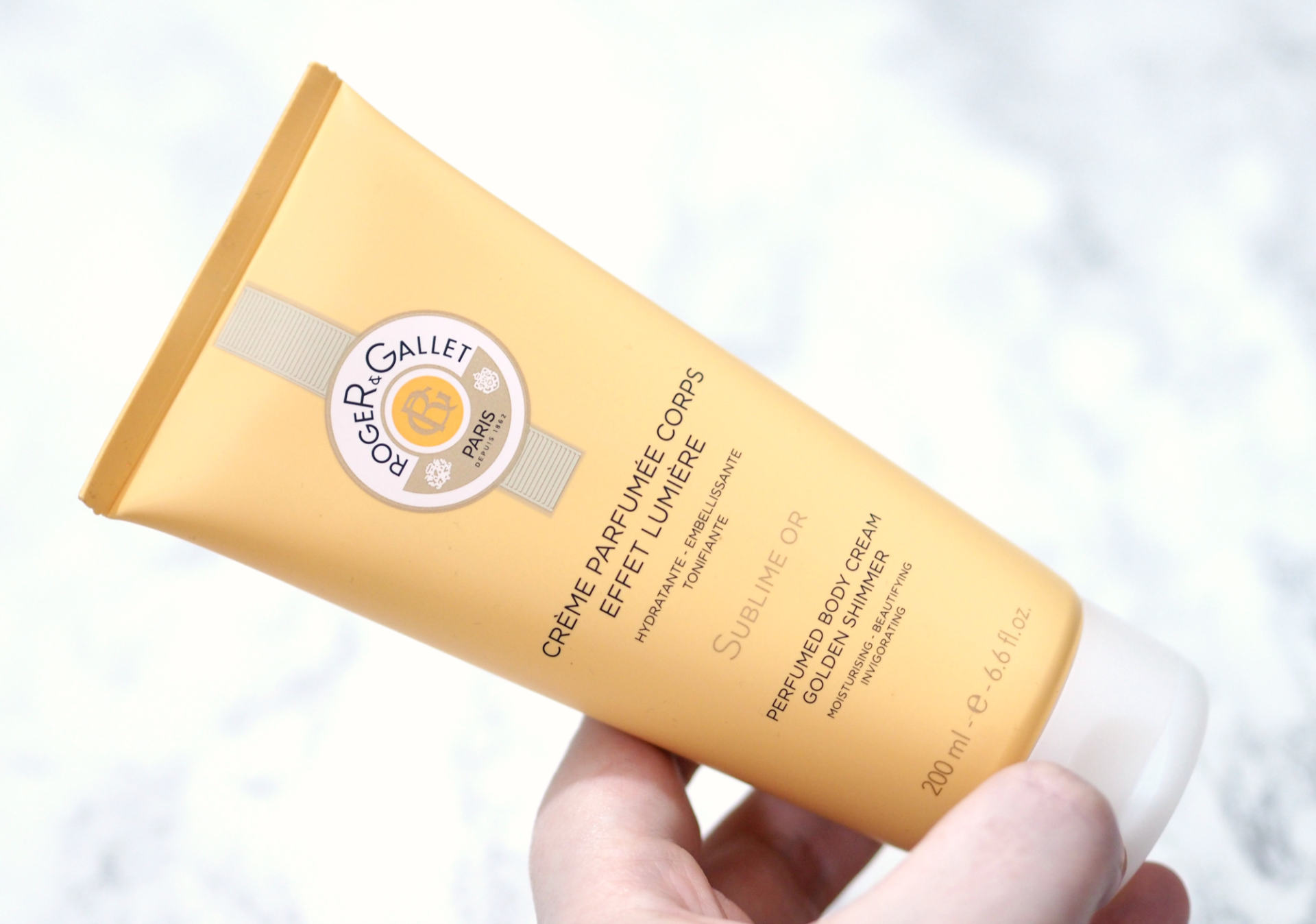 Roger & Gallet Sublime Or Golden Shimmer Perfumed Body Cream