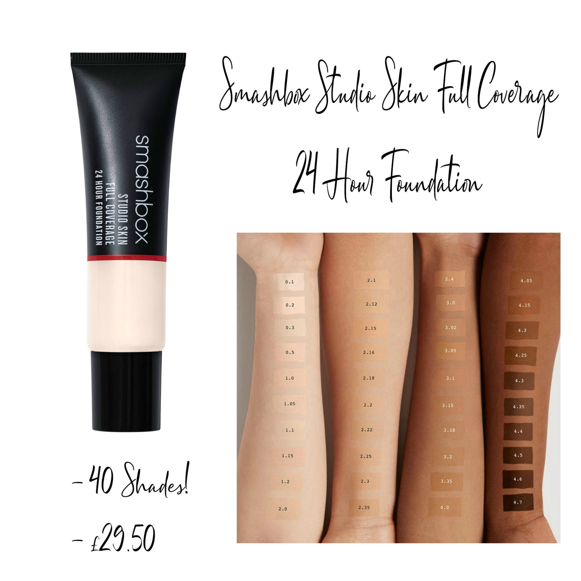 Smashbox Studio Skin Full Coverage 24 Hour Foundation