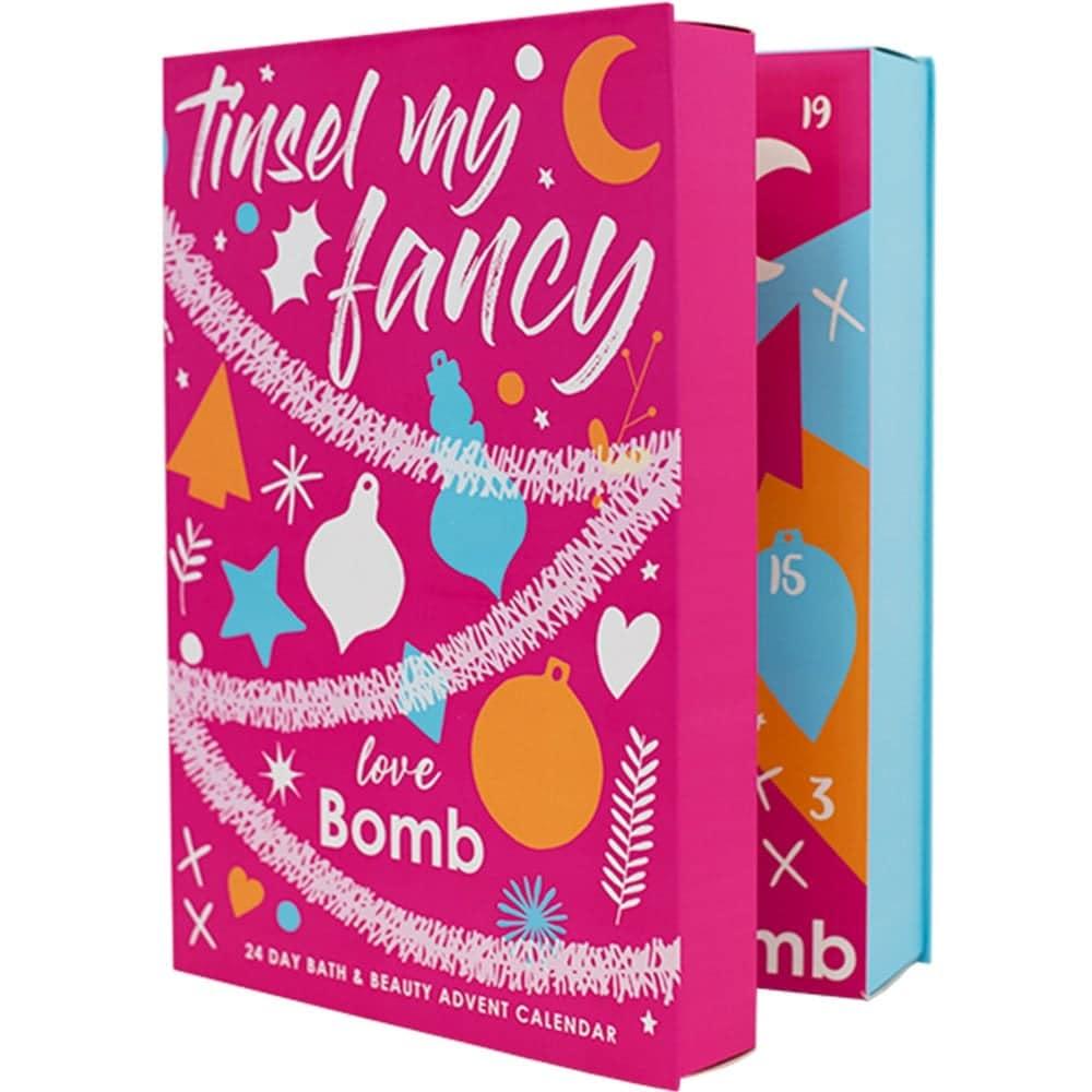 Bomb Cosmetics Tinsel My Fancy Advent Calendar 2019 Contents Reveal!