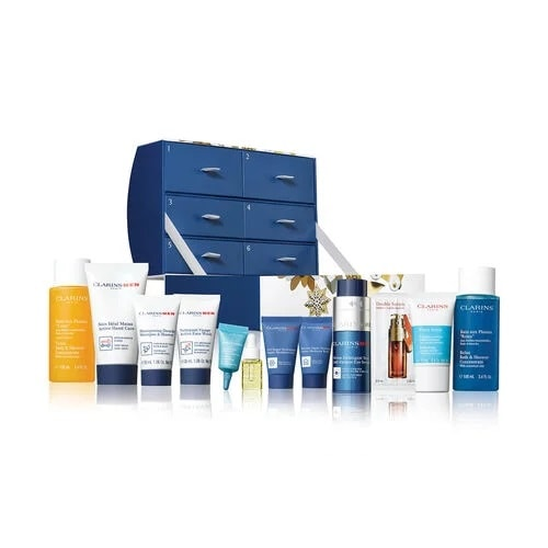 Clarins Men 12 Days of Christmas Advent Calendar 2019 Contents Reveal!