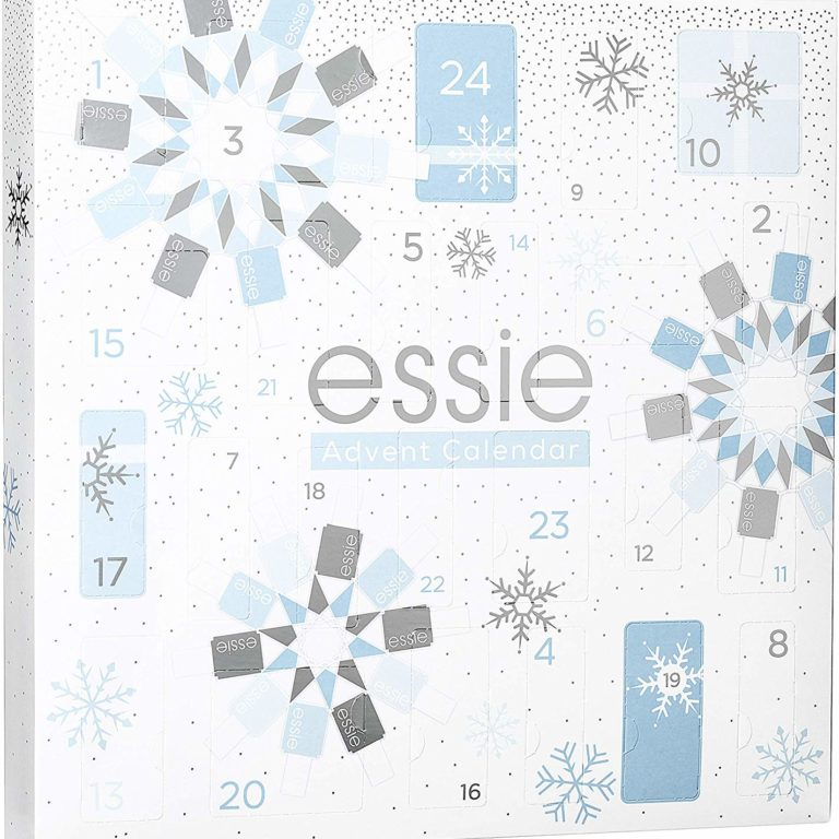 Essie Christmas Nail Polish Advent Calendar 2019 Contents Reveal