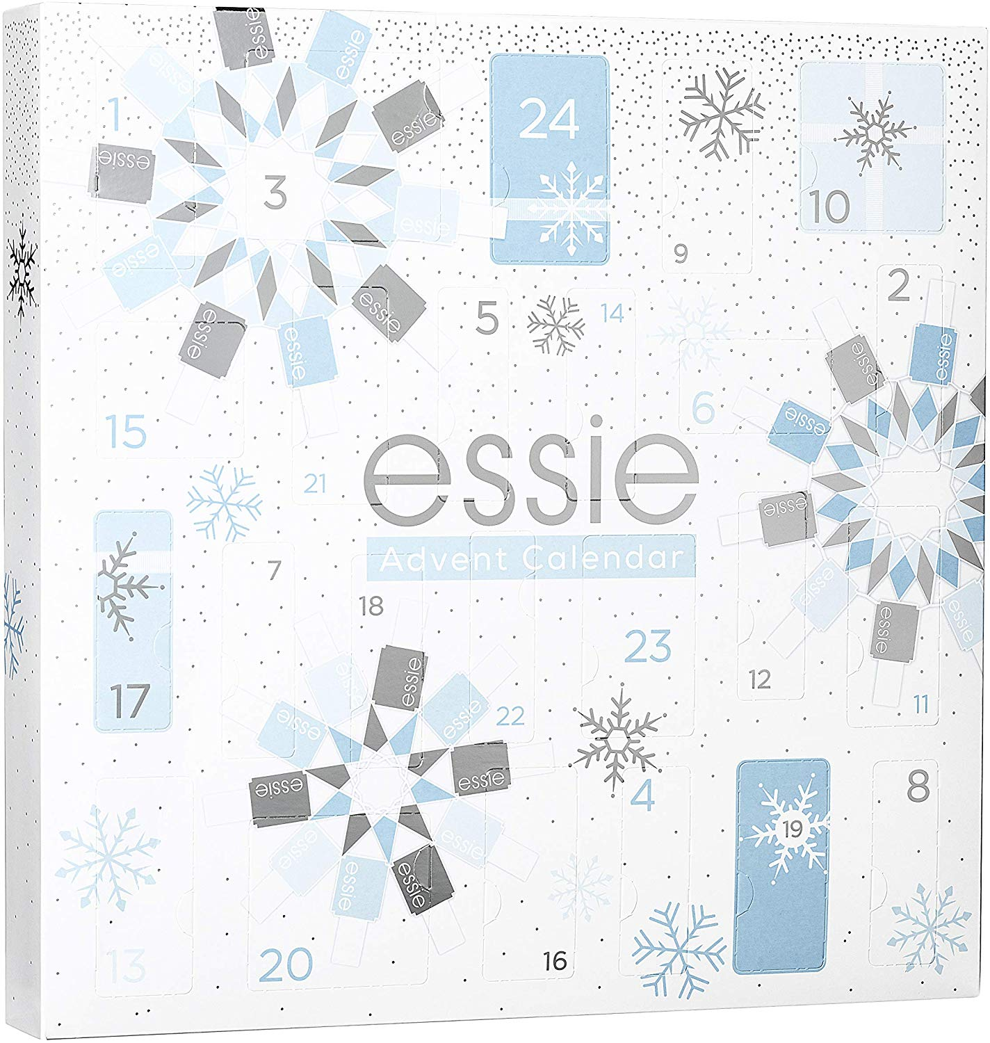 Essie Christmas Nail Polish Advent Calendar 2019 Contents Reveal