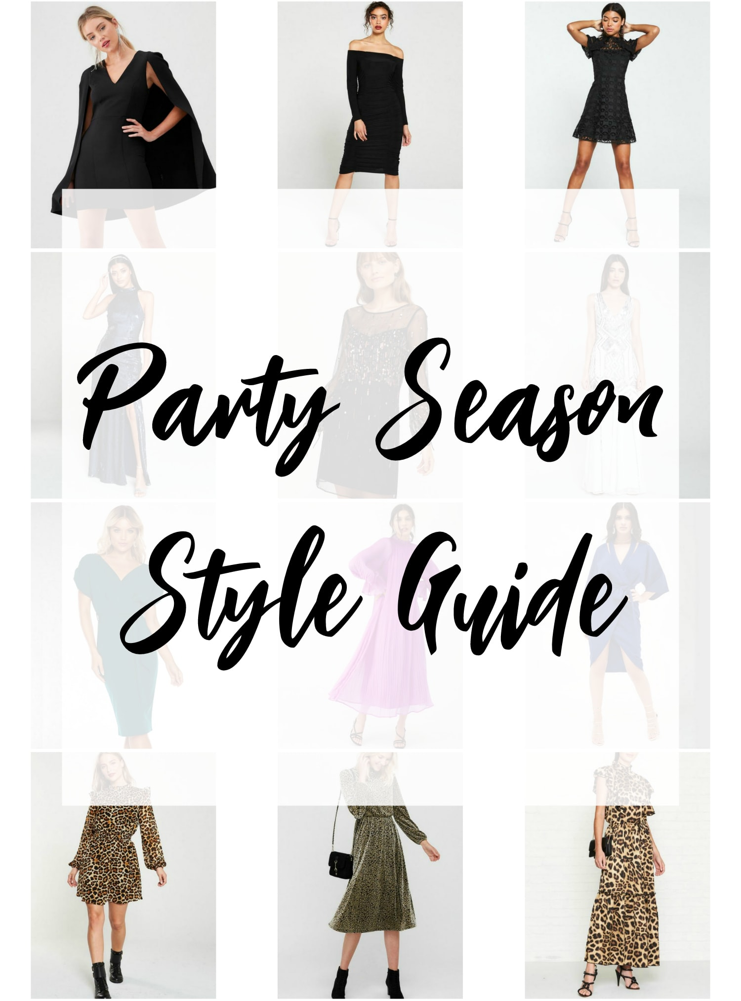 Party Season Style Guide