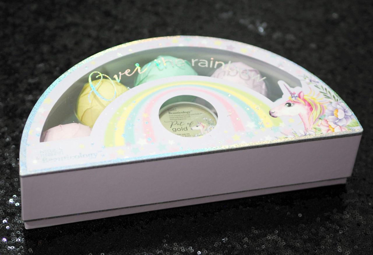 Beauticology Over the Rainbow Unicorn Bath Fizzers Set
