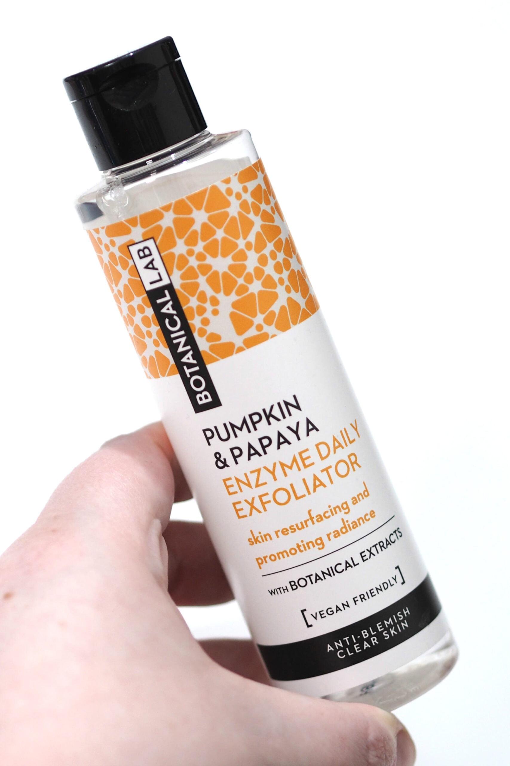 Botanical Lab Pumpkin and Papaya Enzyme Daily Exfoliator