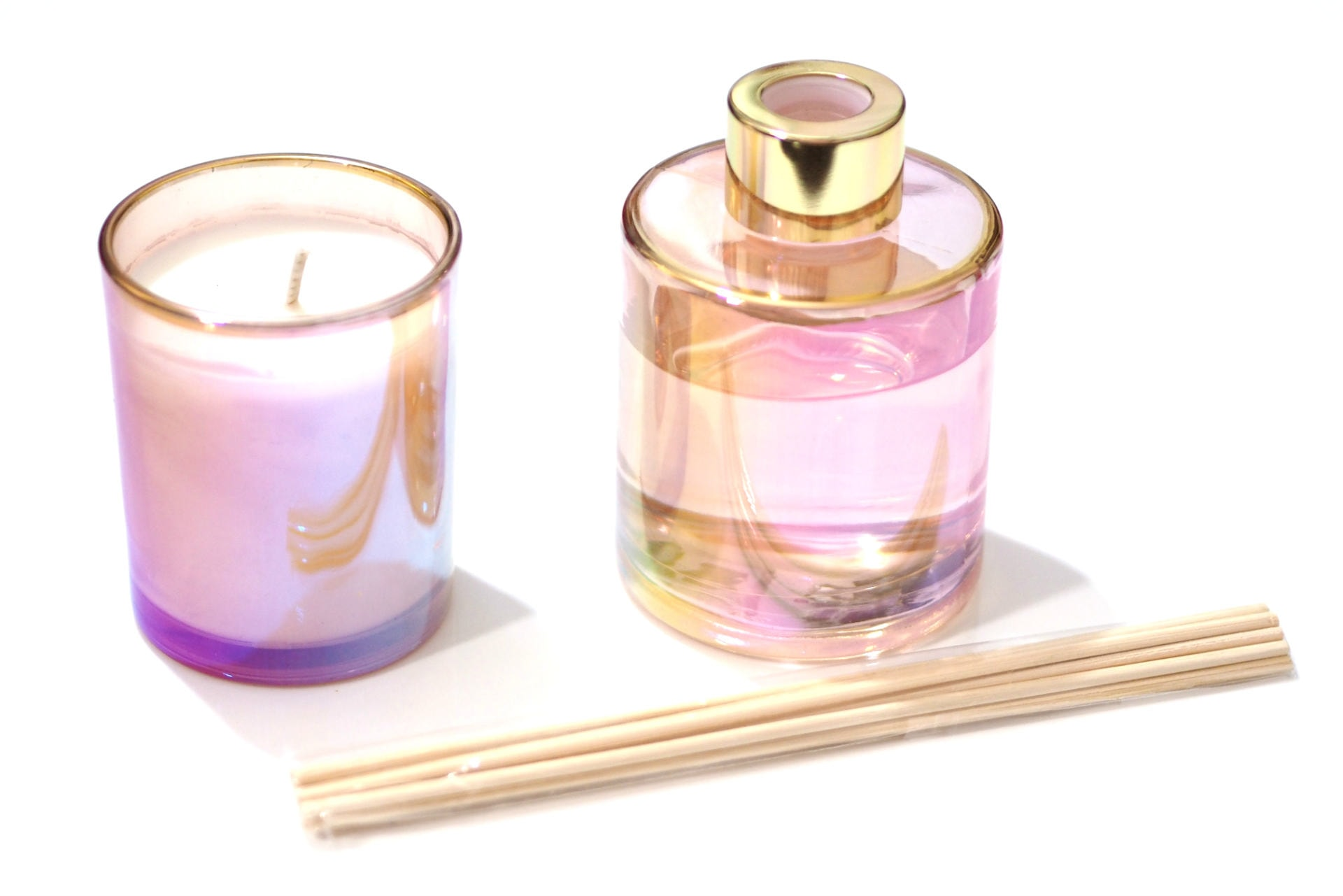 Estella by Sophia Lily Blossom Candle and Reed Diffuser Gift Set
