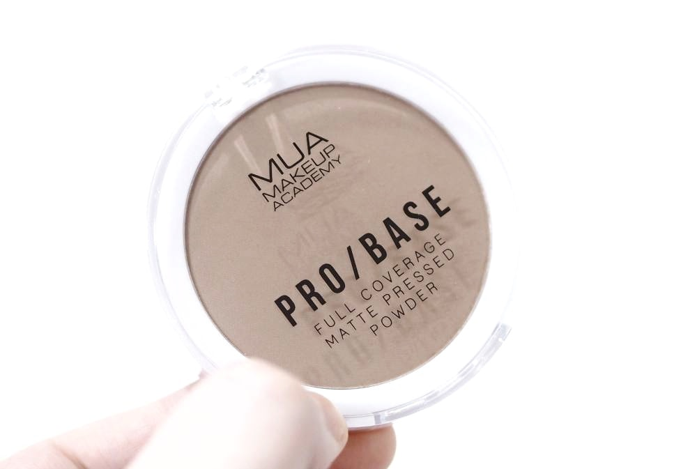 MUA Pro Base Full Coverage Matte Pressed Powder - For Contouring!