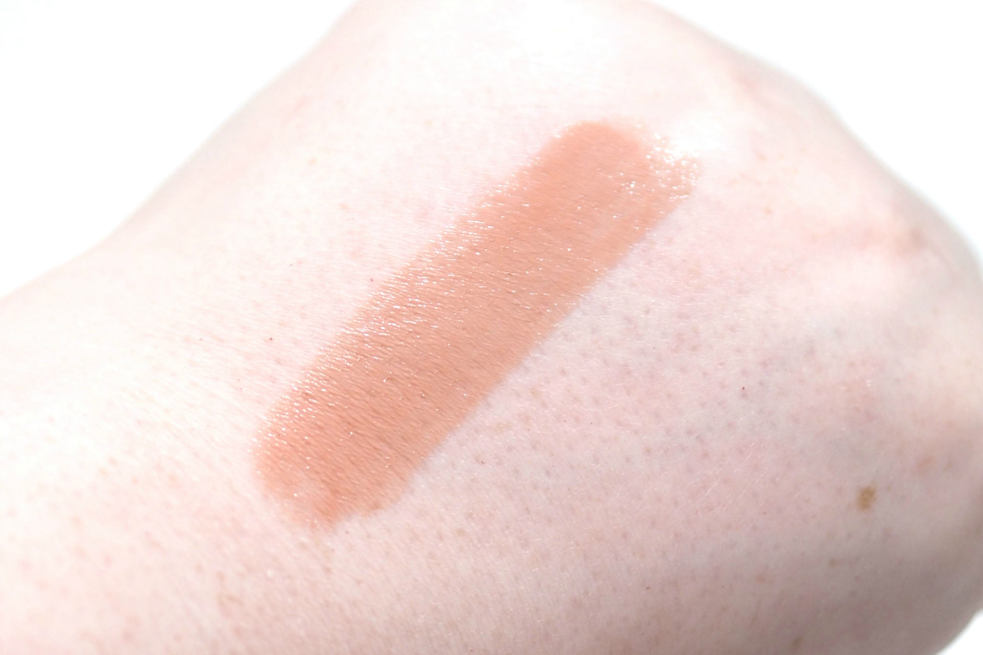 Maybelline Color Sensational Shine Compulsion Lipstick in Baddest Beige 50 Review and Swatches