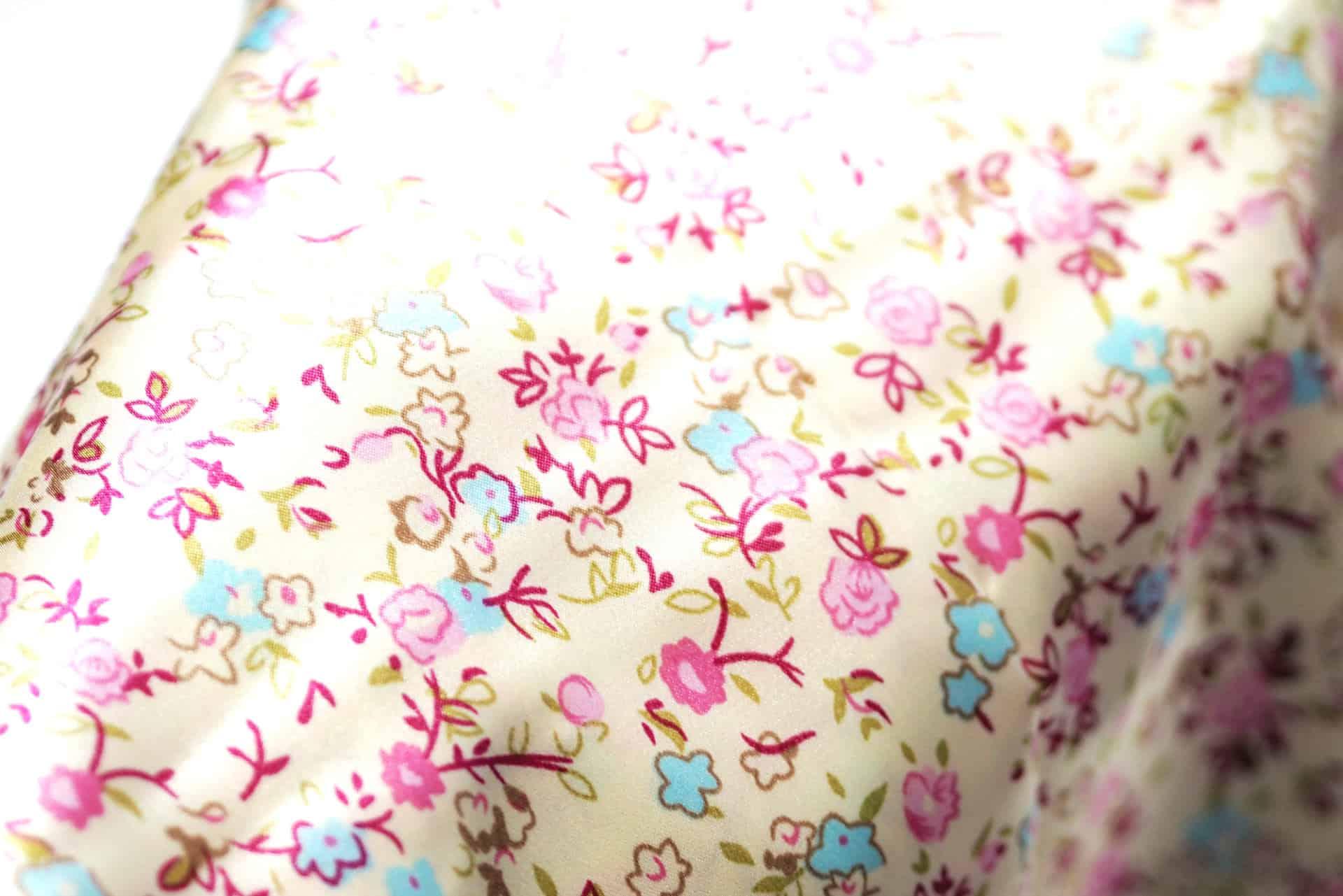 Morning Glamour Satin Pillowcase - Floral