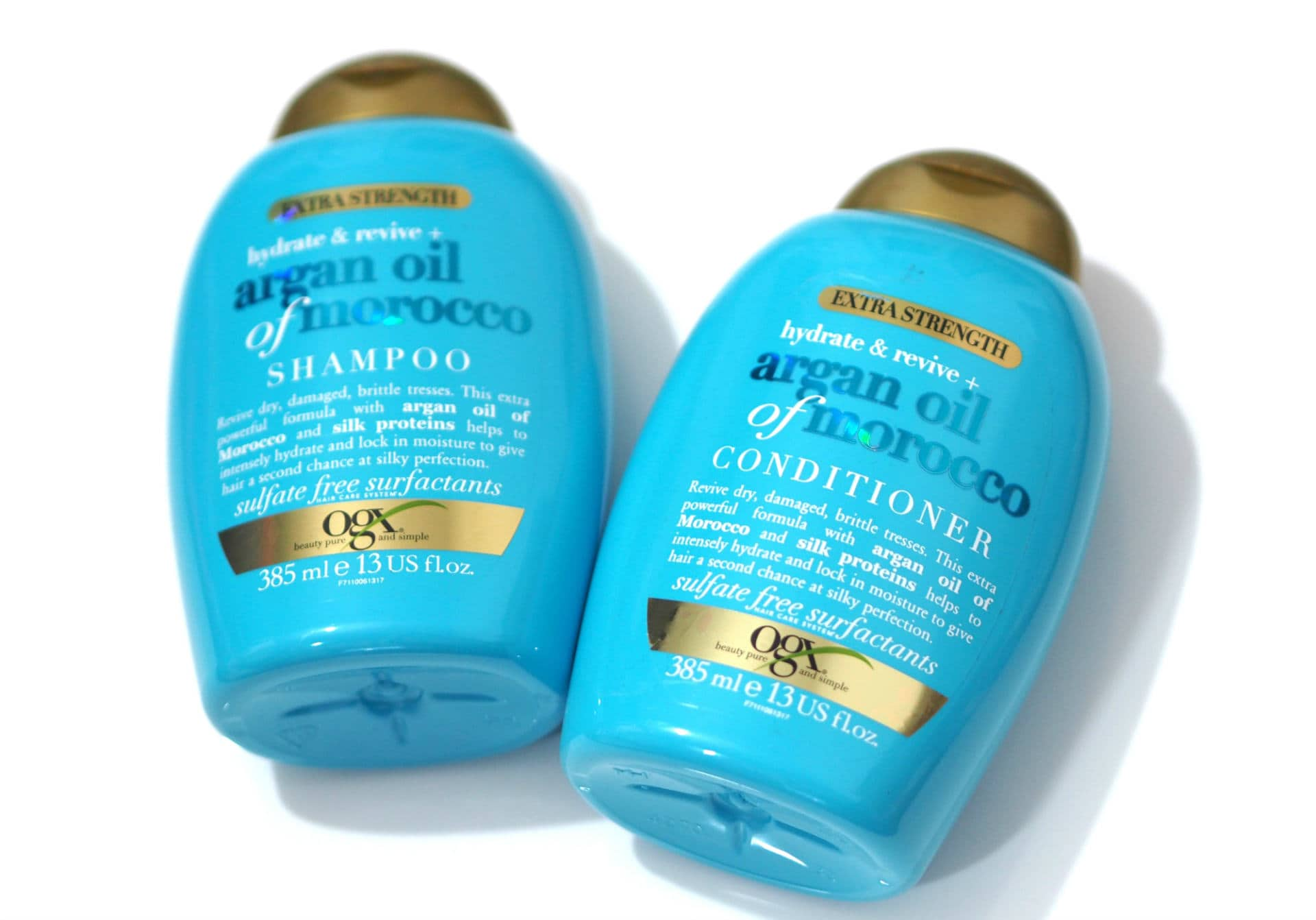 OGX Argan Oil of Morocco Extra Strength Shampoo, Conditioner and Hair Mask