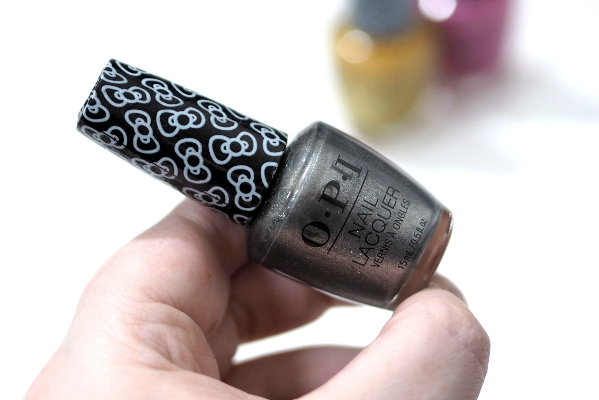 OPI x Hello Kitty Nail Polish Collection 2019 Review and Swatches