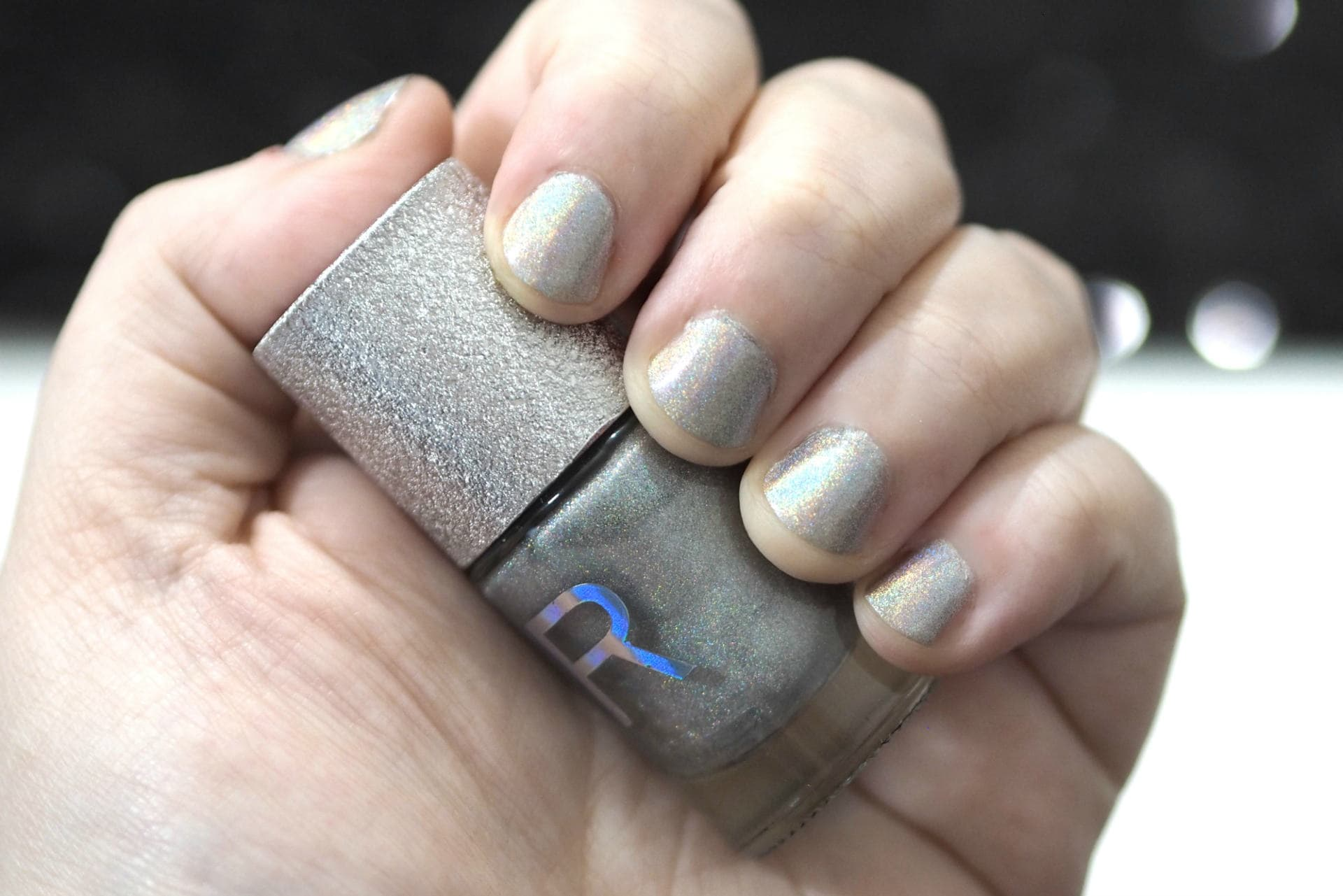 Revolution Holographic Nail Polish - Aura Review and Swatches