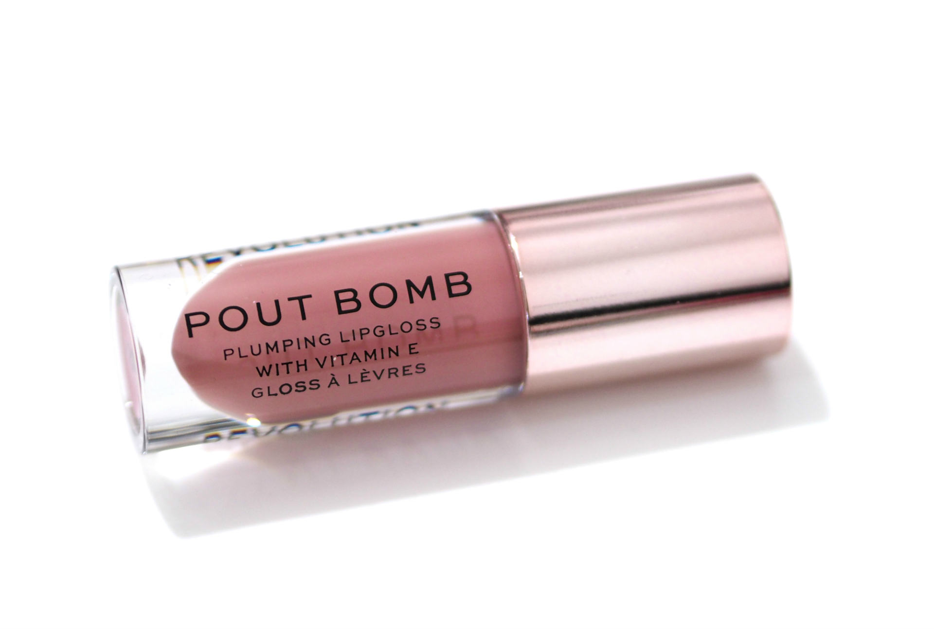 Revolution Pout Bomb Plumping Lip Gloss Review and Swatches
