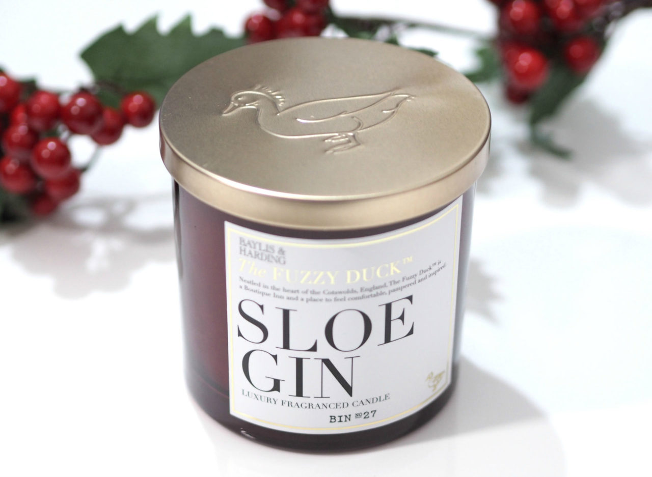 The Fuzzy Duck Sloe Gin Luxury Fragranced Candle