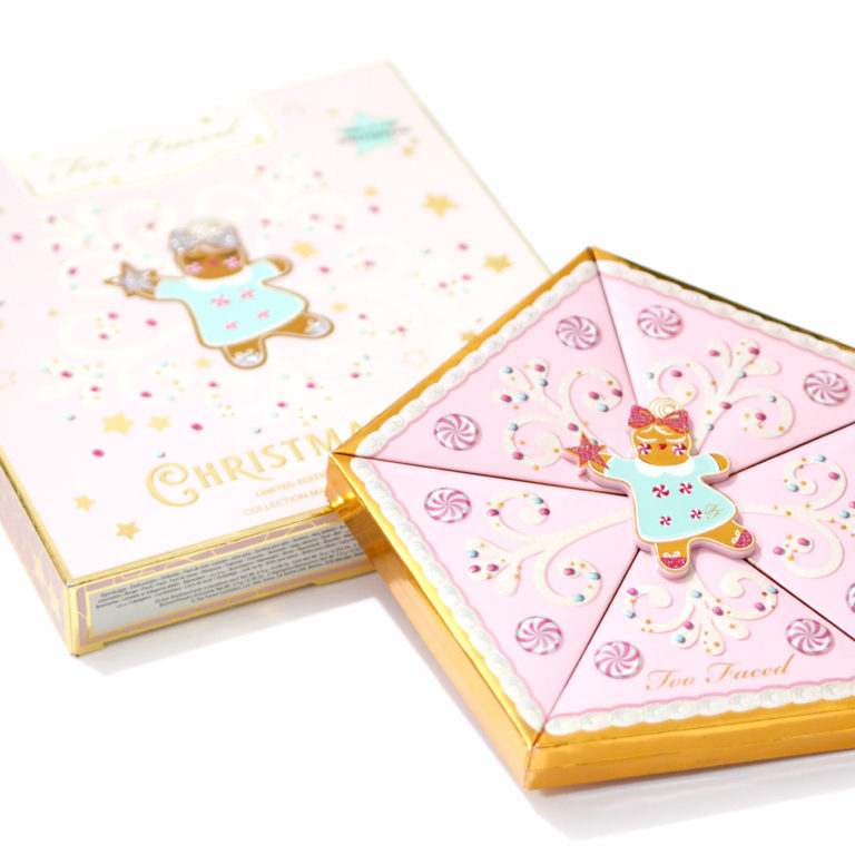 Too Faced Christmas Star Palette Review and Swatches - Eyeshadow, Bronzer, Blush and Highlighter Palette, Lip Gloss and Mascara Set