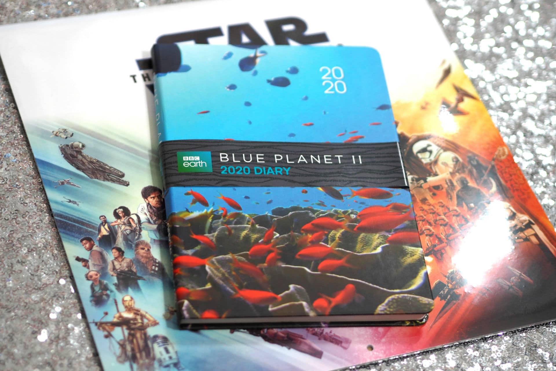 BBC Earth Blue Planet 2020 Diary & Star Wars The Rise of Skywalker 2020 Diary