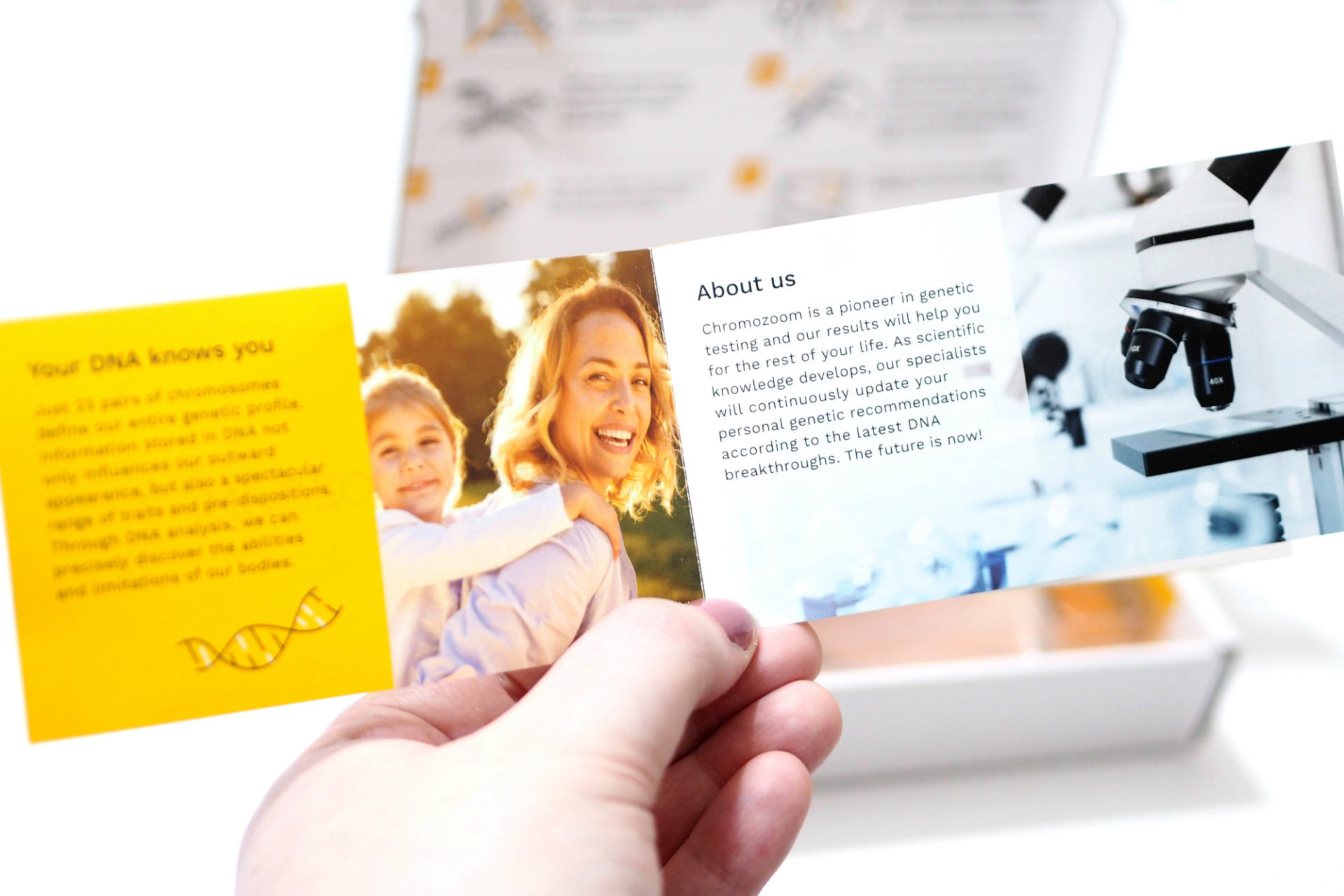 Chromozoom Life Tests - At Home DNA Testing for Nutrition, Sport, Beauty, Derma, Vision and Dental tests