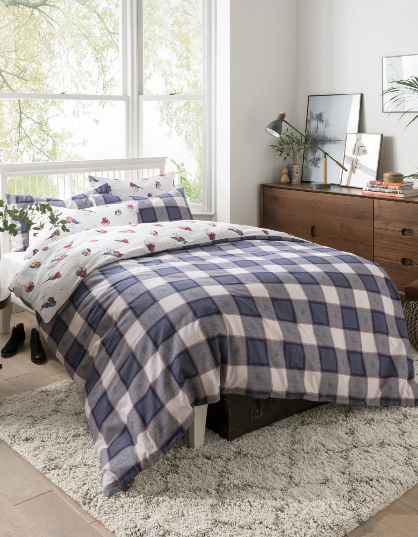 FatFace Robins Brushed Cotton Bedding Collection