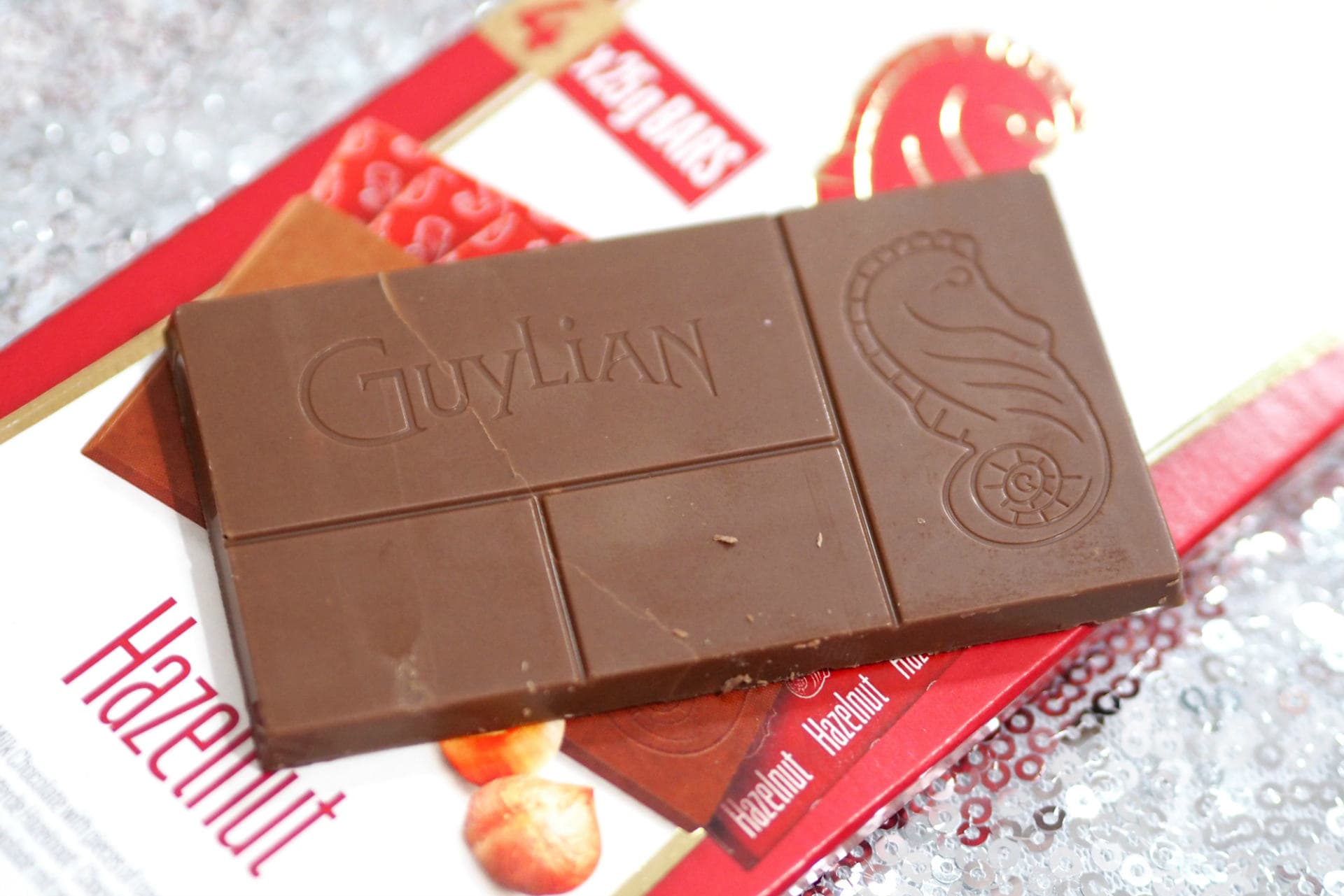 Festive Food, Treats and Drinks Guide 2019 - Guylian 100g Bars