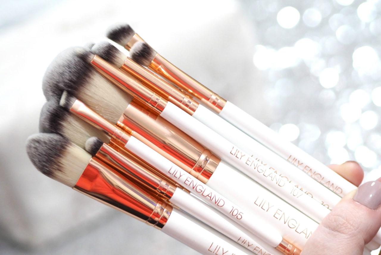 Lily England Rose Gold Ultimate Makeup Brush Set