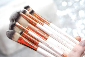 Lily England Rose Gold Ultimate Makeup Brush Set