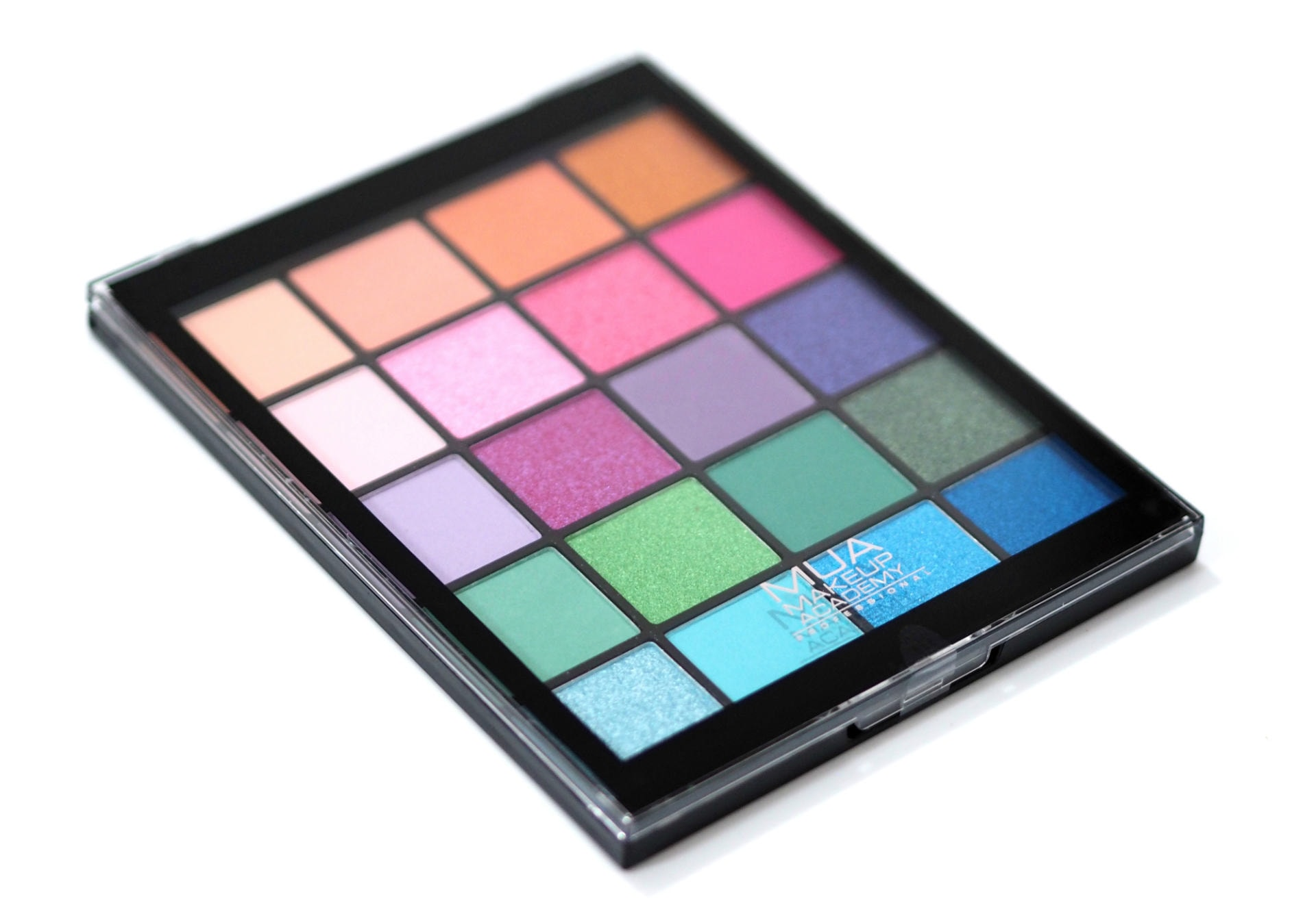 MUA Tropical Oceana Eyeshadow Palette Review Swatches