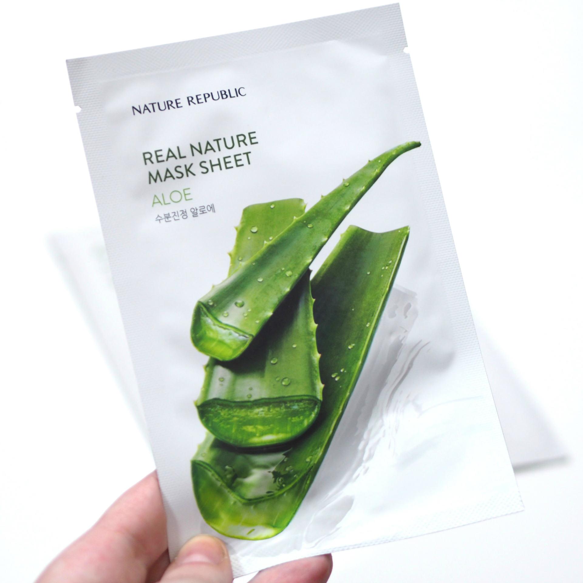 Nature Republic Sheet Masks