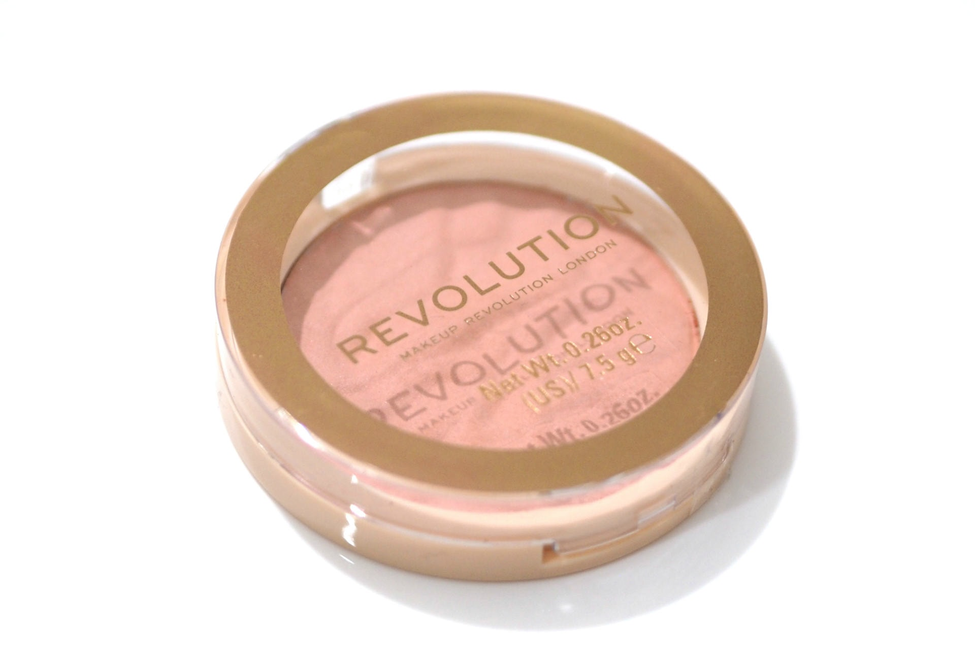 Revolution Blusher Reloaded Review and Swatches in Peaches and Cream