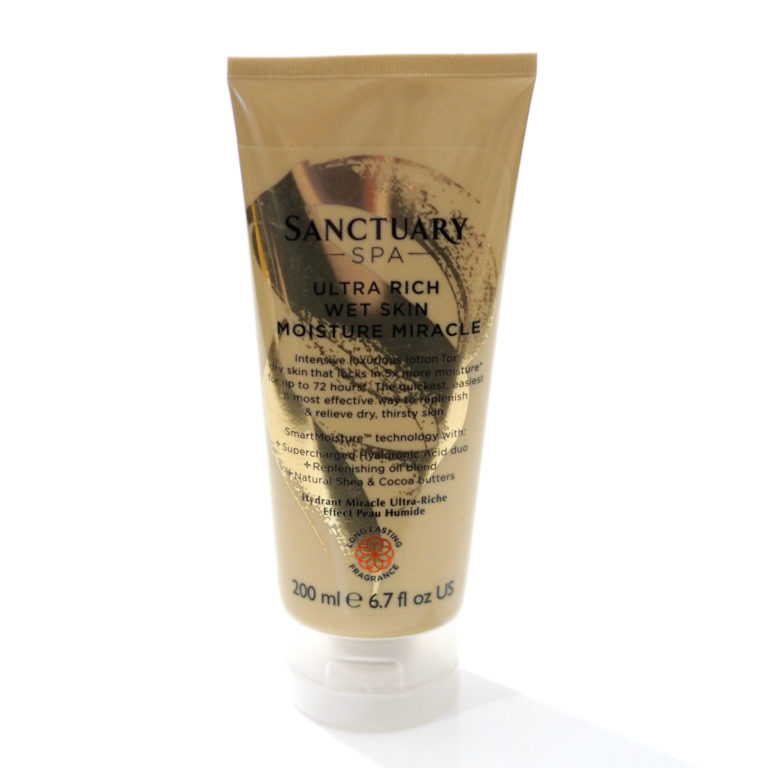 Sanctuary Spa Ultra Rich Wet Skin Moisture Miracle