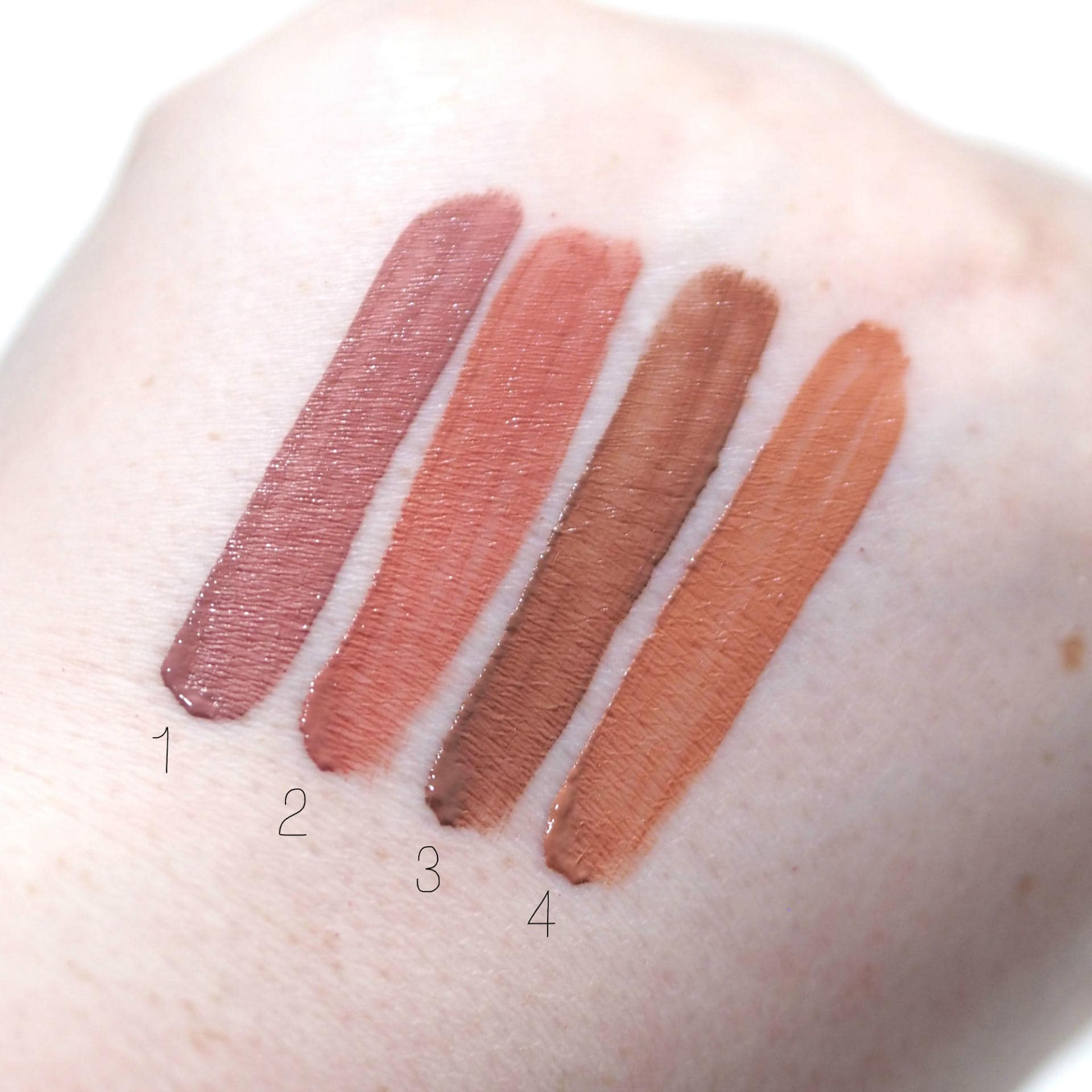 W7 Duped Nice Nudes Matte Liquid Lipstick Set Review and Swatches