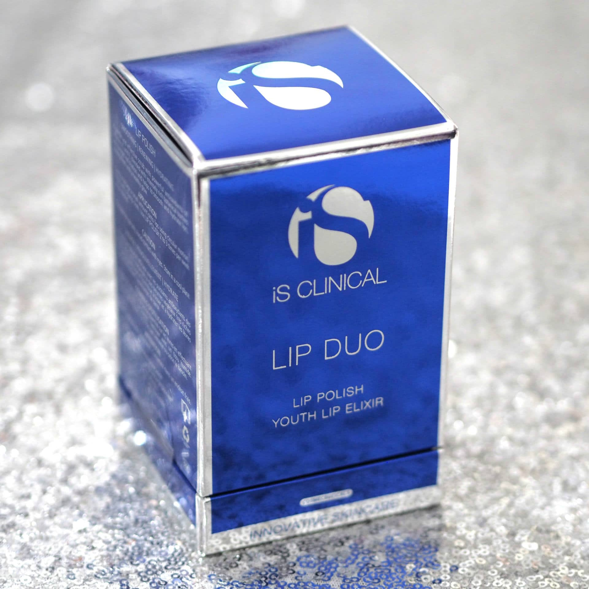 iS CLINICAL Lip Duo Gift Set ft iS CLINICAL Lip Polish and iS CLINICAL Lip Elixir