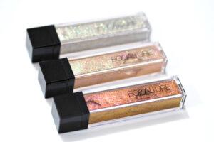Focallure Glitter Liquid Eyeshadows Review / Swatches