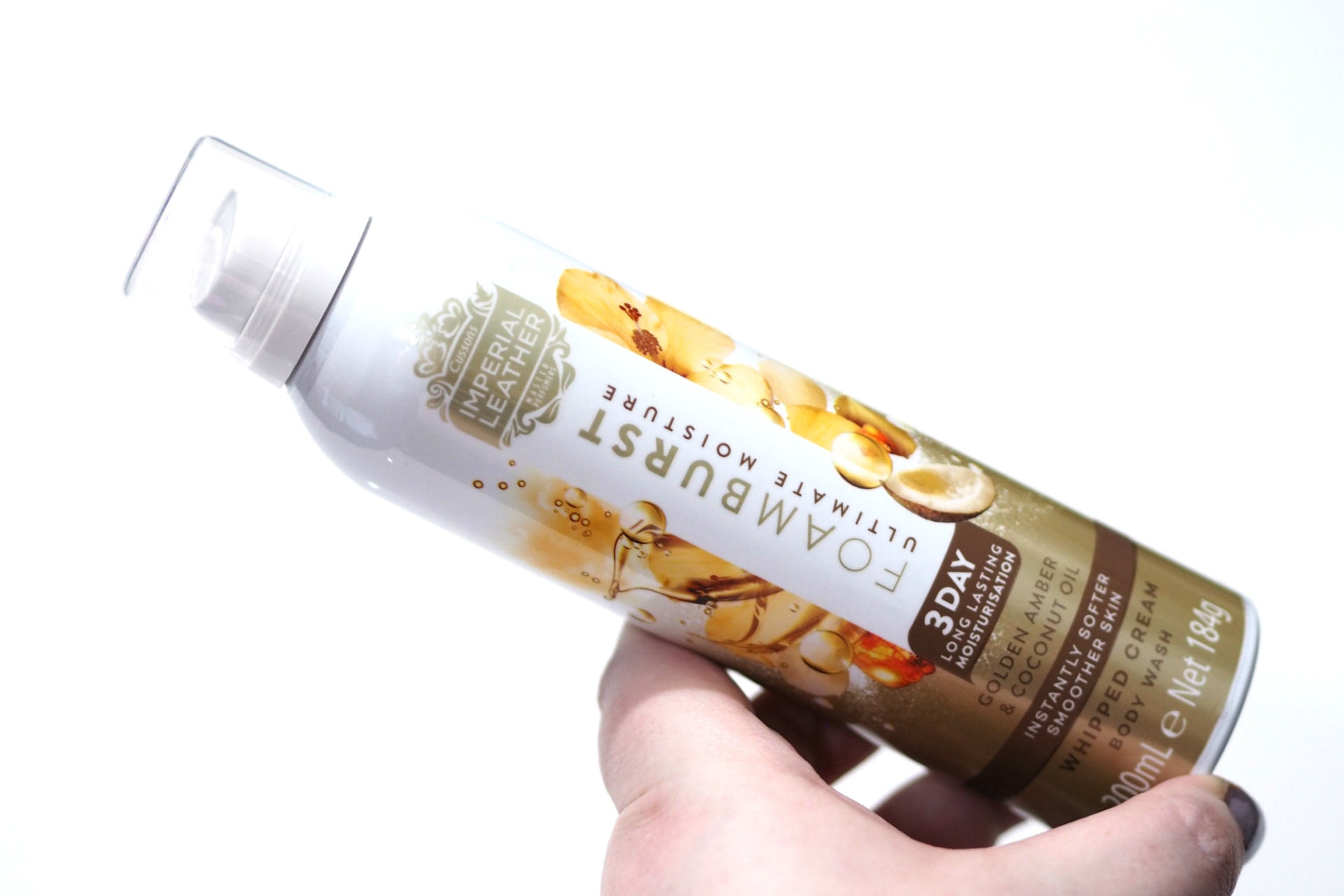 Imperial Leather Foamburst Ultimate Moisture Whipped Cream Body Wash