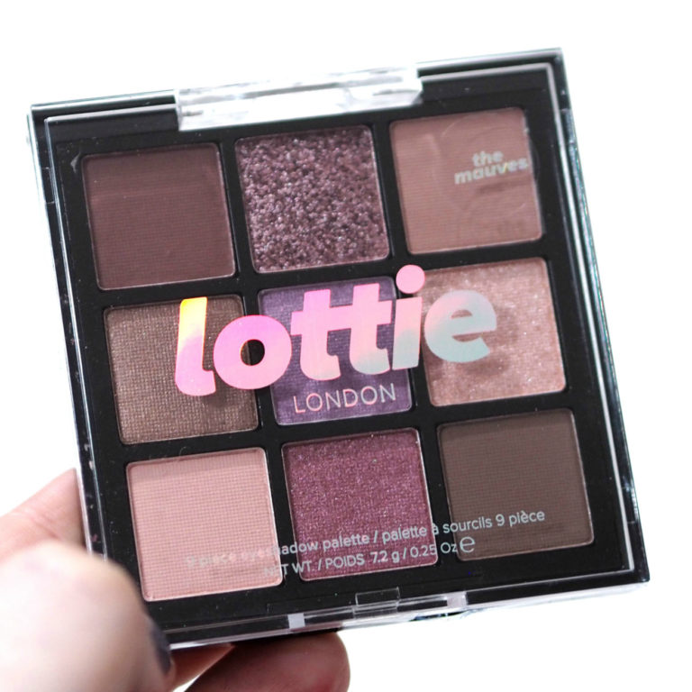 Lottie London The Mauves Eyeshadow Palette Review Swatches
