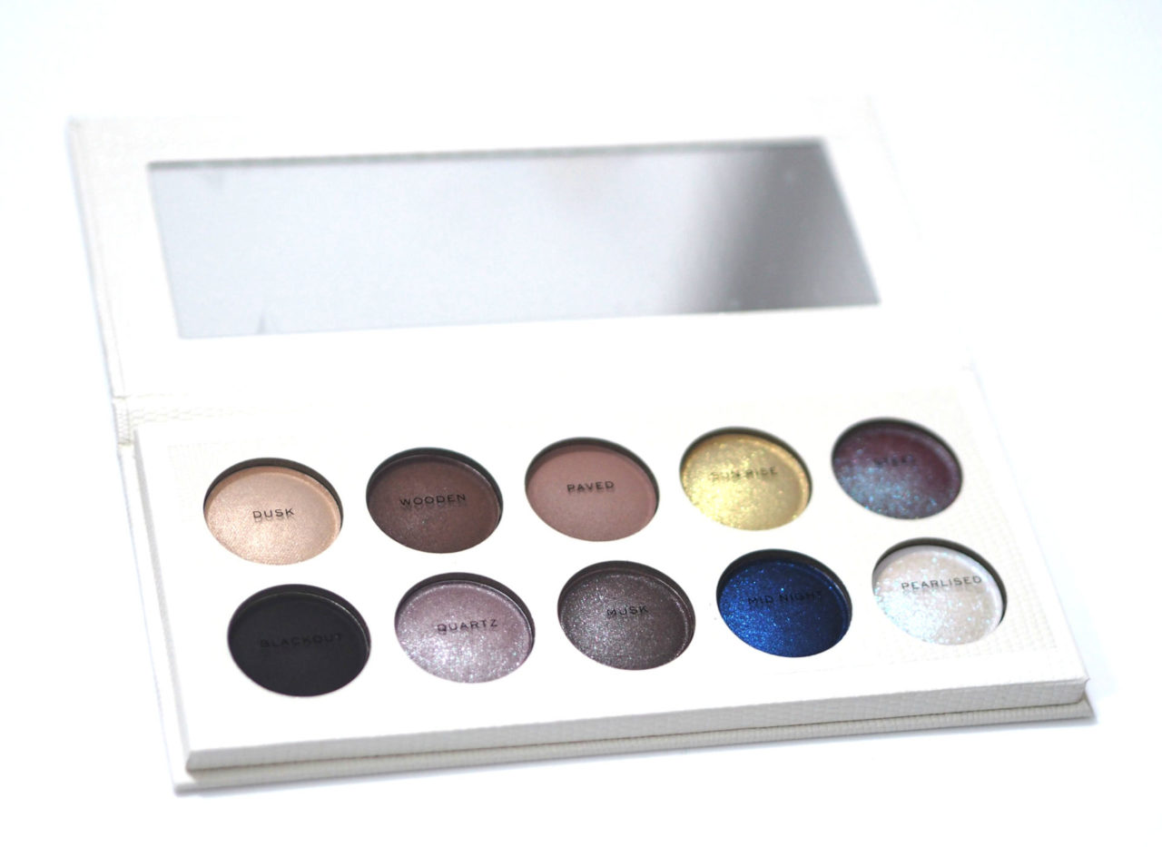 Revolution Pro Colour Focus Night and Day Eyeshadow Palette Review and Swatches