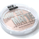 Makeup Obsession Game Set Matte Matte Baked Powder Review and Swatches
