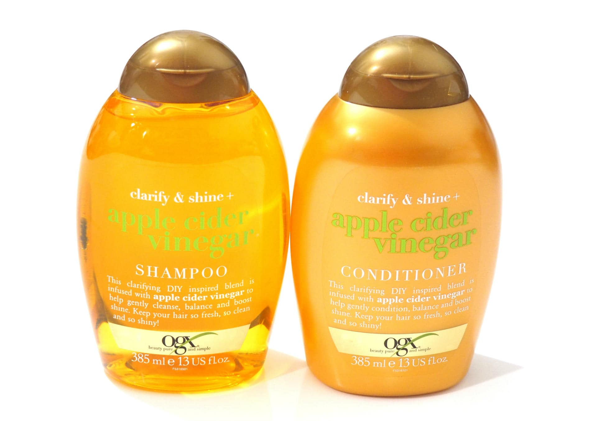 OGX Apple Cider Vinegar Shampoo and Conditioner