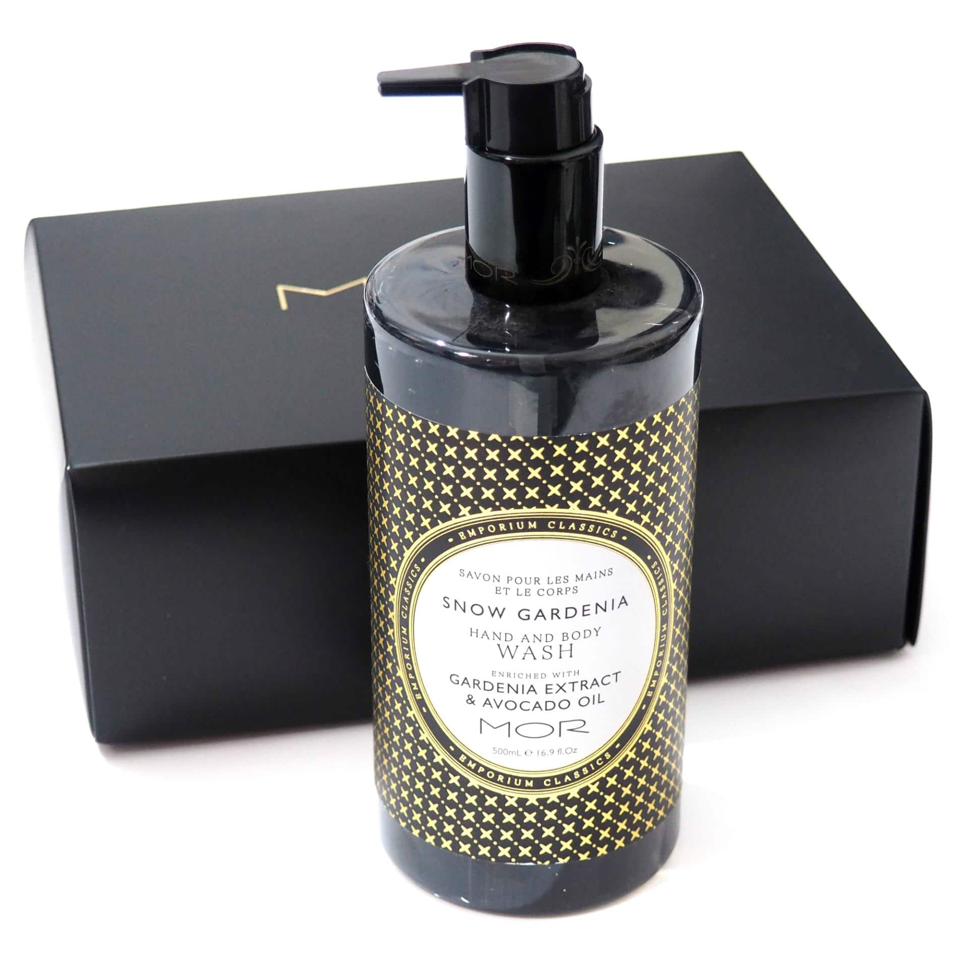 MOR Snow Gardenia Hand and Body Wash