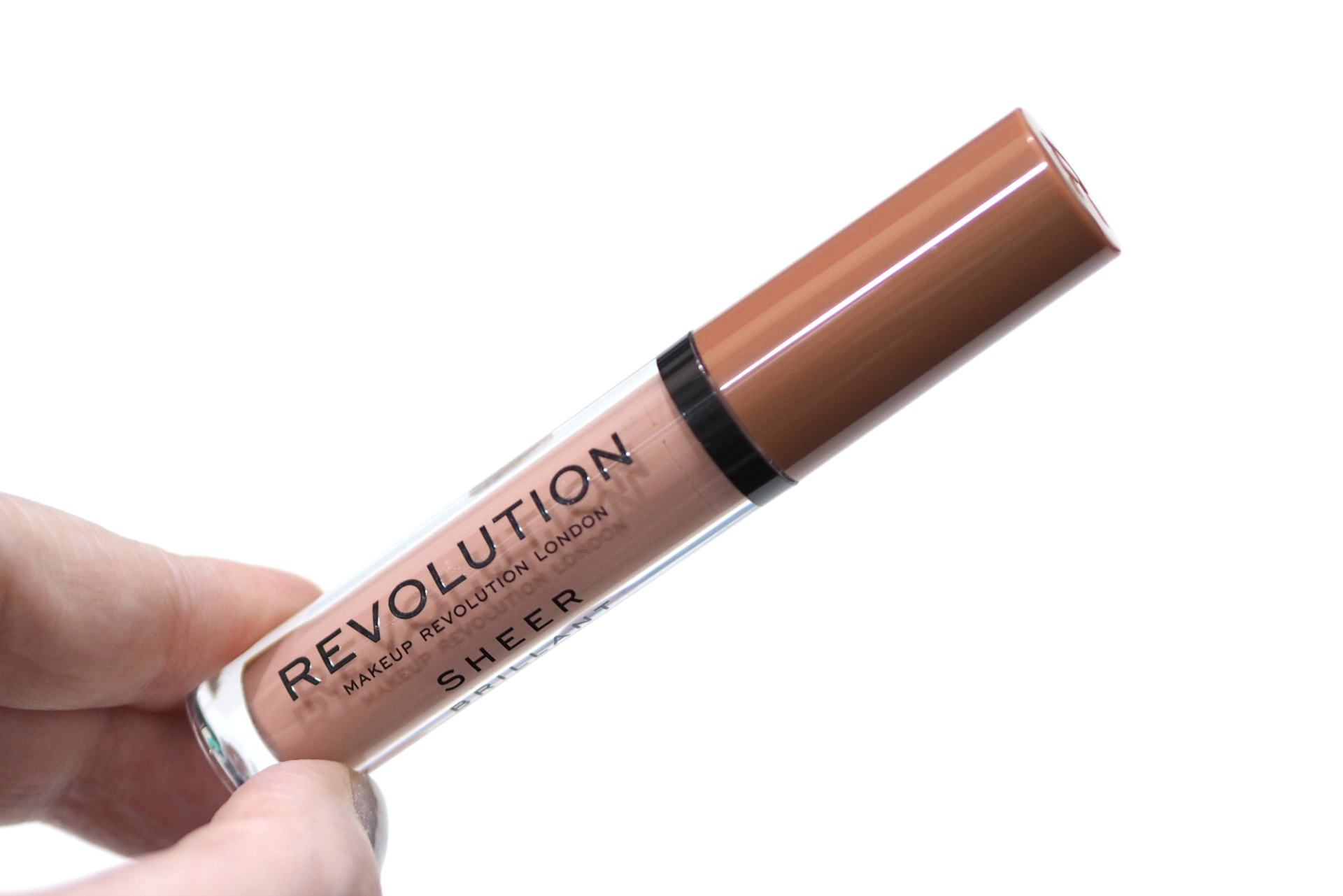 Revolution Piece of Cake Sheer Lip Gloss Review and Swatches