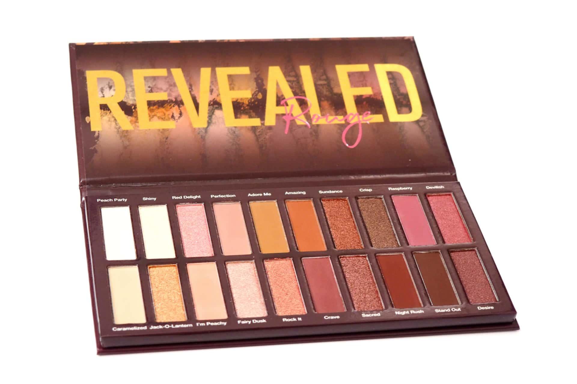 Coastal Scents Revealed Rouge Eyeshadow Palette