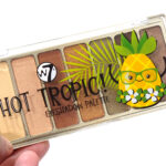 W7 Hot Tropic Eyeshadow Palette Review Swatches