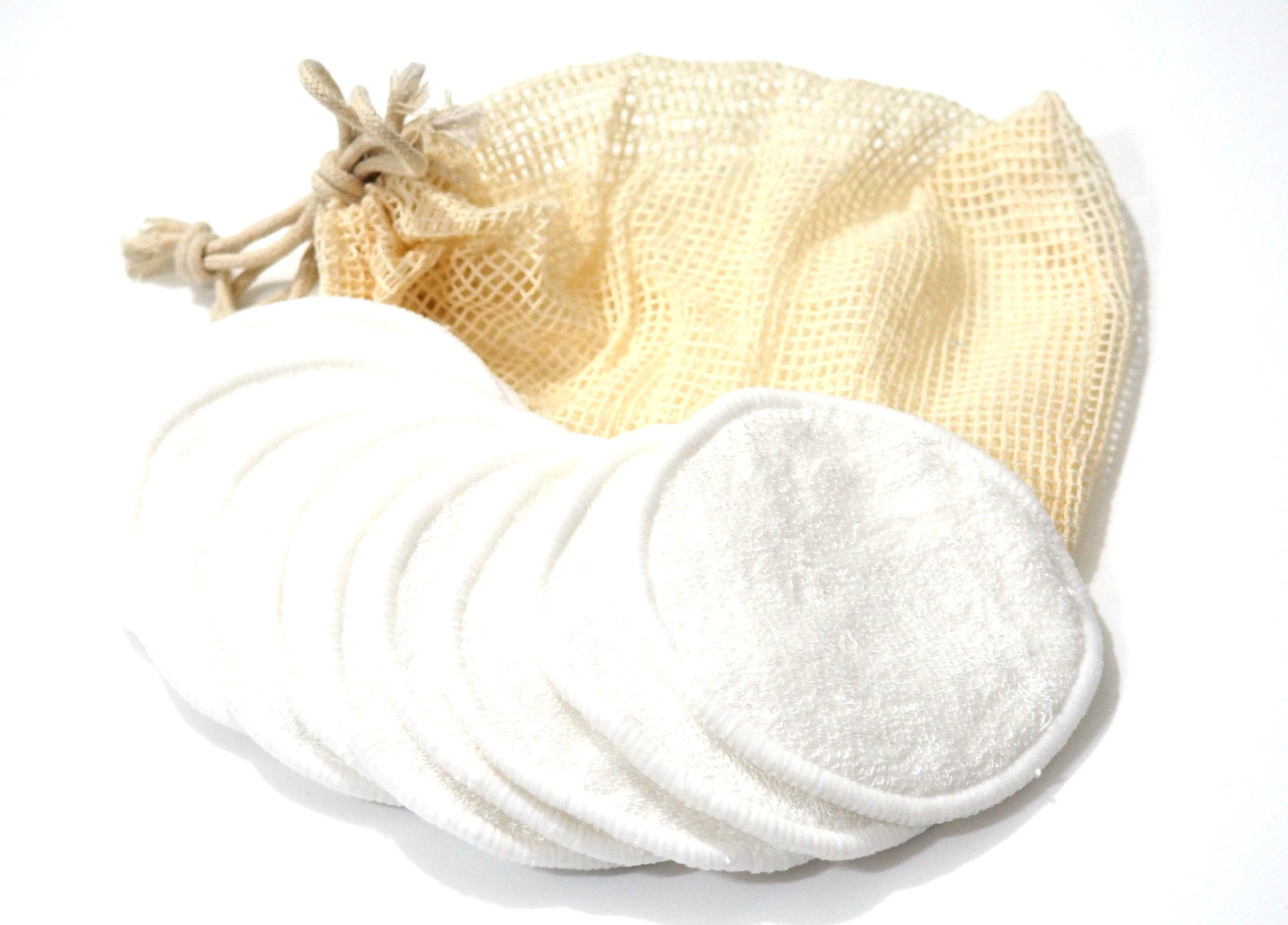 Resolute Bamboo Care Reusable Makeup Remover Pads