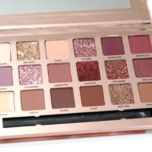 W7 Socialite Indulgent Multi Textured Pressed Pigment Palette Review Swatches