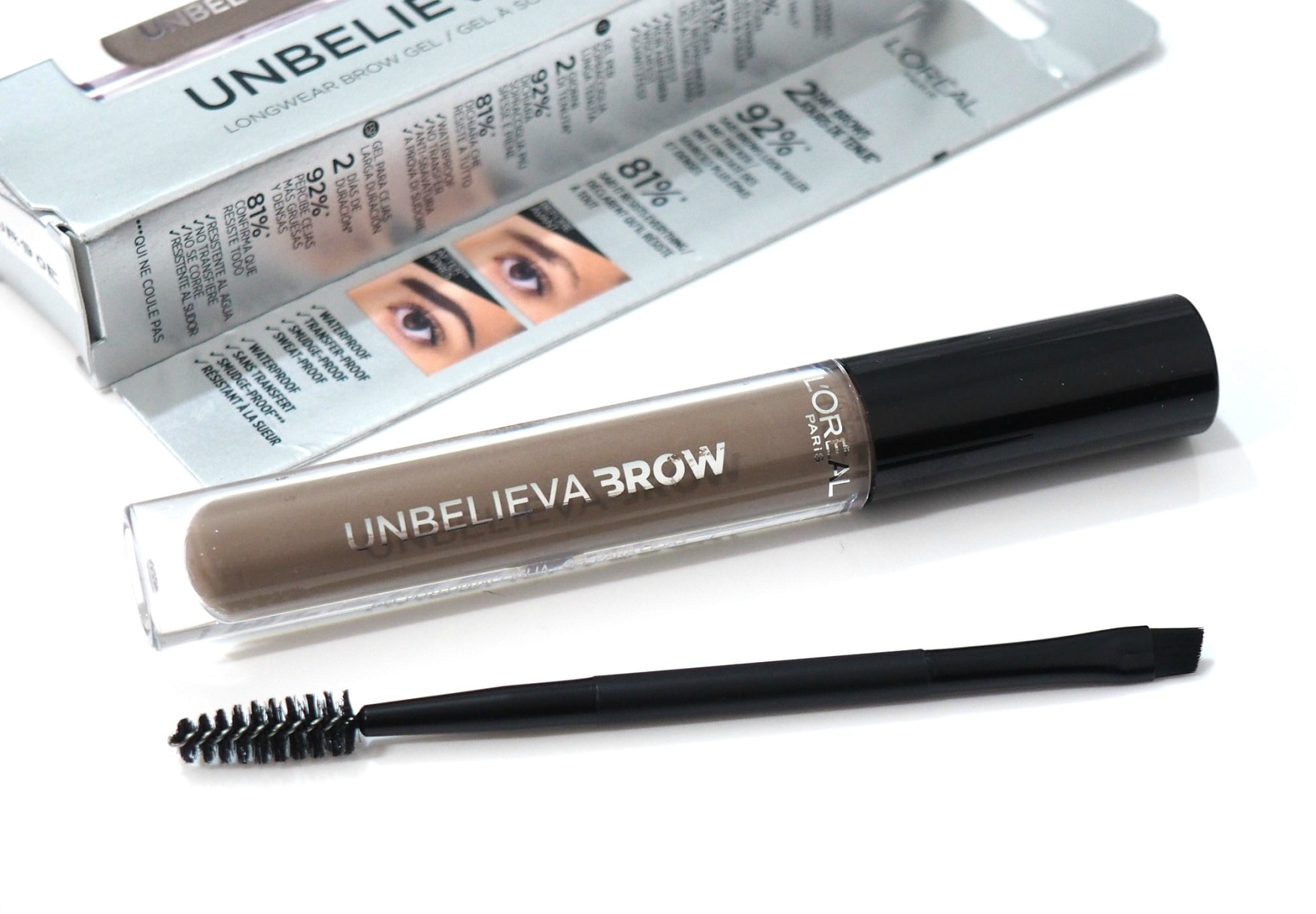 Photo of L'Oreal Unbelieva' Brow Long Wear Brow Gel Review / Swatches | Gemma Etc.