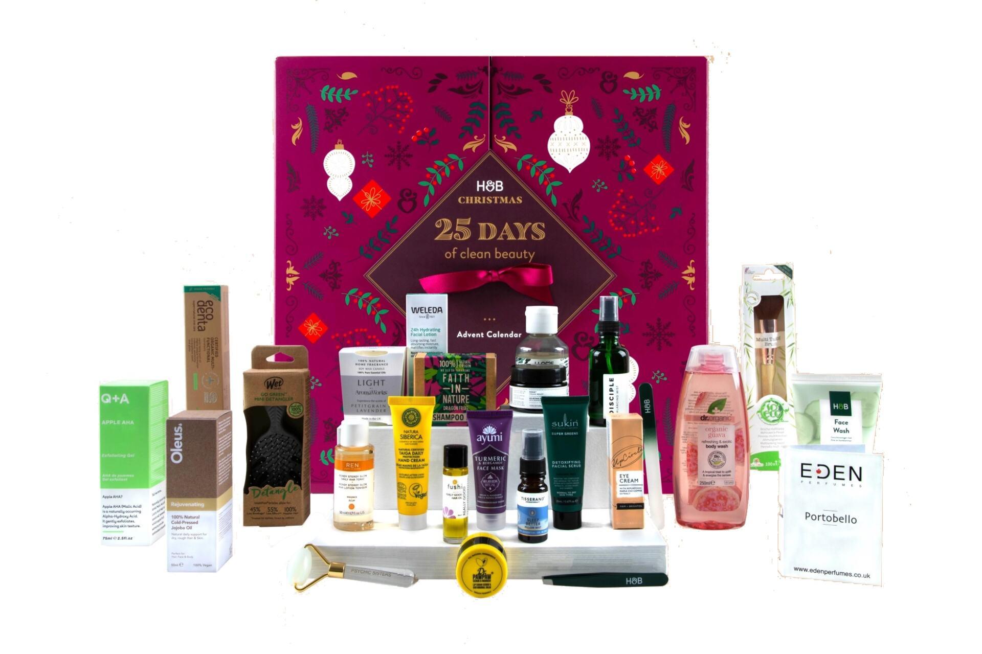 Holland & Barrett 25 Days Of Clean Beauty Advent Calendar 2021 £45